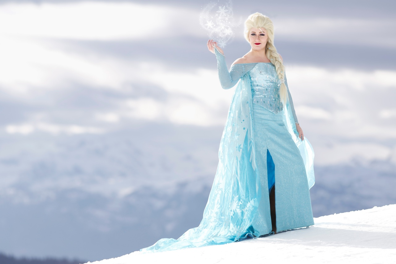 Queen Elsa at Whistler Blackcomb