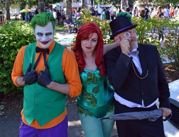The Joker, Poison Ivy & The Penguin